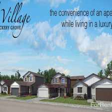 Rental info for Village at Vickery Grove