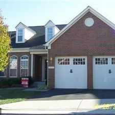 Rental info for 3 Bdrm 2.5 Bath Colonial in the Villas at the Ridges