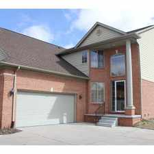 Rental info for 1046 Lorenzo Ct in the Troy area