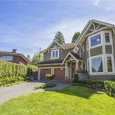 Rental info for 1858 Quilchena Crescent