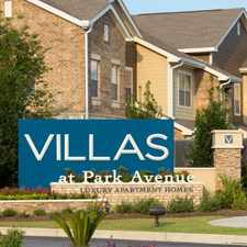 Rental info for Villas at Park Avenue