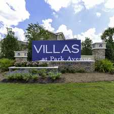 Rental info for Villas at Park Avenue