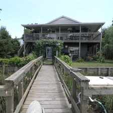 Rental info for 4 Bedroom 3 Bath House on Deep Water in Riverfront