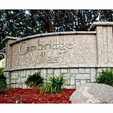Rental info for Cambridge Villas in the Omaha area