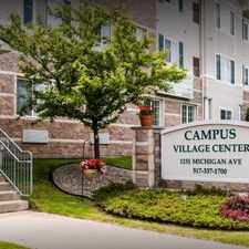 Rental info for Campus Village in the Lansing area