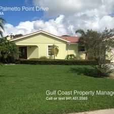 Rental info for 4911 Palmetto Point Drive