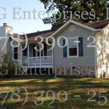 Rental info for Ranch Home at a Great Location