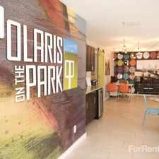 Rental info for Polaris on the Park