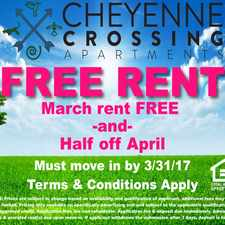 Rental info for Cheyenne Crossing