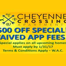 Rental info for Cheyenne Crossing in the Colorado Springs area