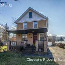 Rental info for 1536 E 195th St in the Cleveland area