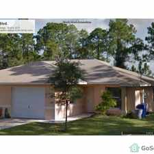 Rental info for Beautiful Newly Constructed Home with All Tile and 1 car garage in the 33936 area