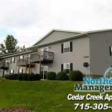 Rental info for Cedar Creek