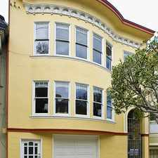 Rental info for 1638 Waller in the Haight Ashbury area