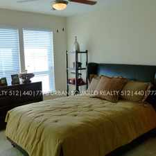 Rental info for U2R in the Circle C Ranch area