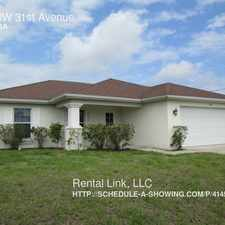 Rental info for 420 NW 31st Avenue