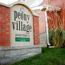 Rental info for Peony Village