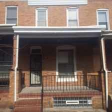 Rental info for 3 bedroom, 2 full baths; remodeled Kitchen and upstairs bath; newly stained hardwood floors; new heating and air conditioning; finished basemen; fenced back yard. in the Baltimore area