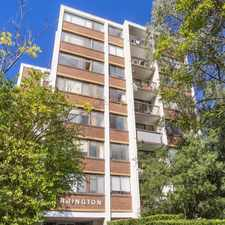 Rental info for DEPOSIT TAKEN - BRIGHT & SUNNY - 2 BEDROOM APARTMENT WITH SECURITY CAR SPACE!