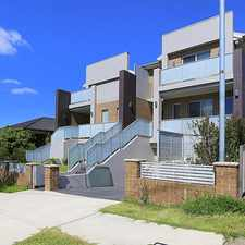 Rental info for As New Townhouse in the Condell Park area