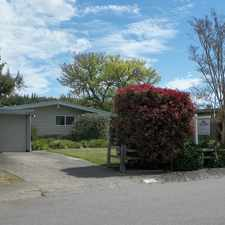 Rental info for Charming Home on Quiet Street Offers Lots of Privacy