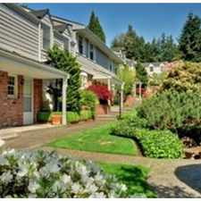 Rental info for Bellevue Downtown Townhouse in the Bellevue area