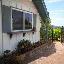 Rental info for San Mateo Home with Views in the San Mateo area