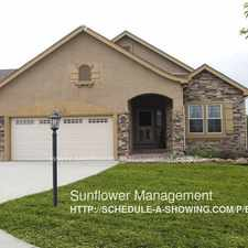Rental info for 4805 Young Gulch Way