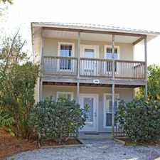Rental info for Beach Cottage Off 30A! 2-bed/2-bath