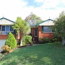 Rental info for THREE BEDROOM HOME IN A CONVENIENT LOCATION in the Sydney area