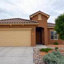 Rental info for Beautiful 2 Bedroom Home with Incredible Interior Accents! Alegria by Del Webb 55+ and Older Community