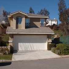 Rental info for Gated Marigold Community Home for Rent in Castaic!