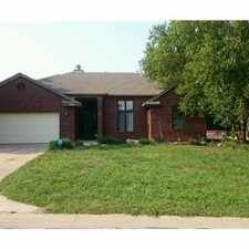 Rental info for *Beautiful home in Andover school district* in the Wichita area