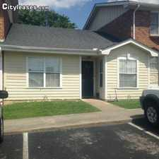 Rental info for Two Bedroom In Cullman (Anniston)