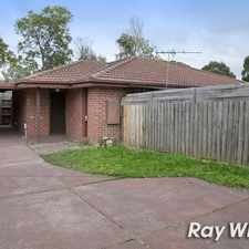 Rental info for ONLY 2 ON THE BLOCK!! in the Melbourne area