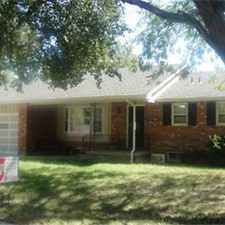 Rental info for 3 Bedroom House in NW Wichita
