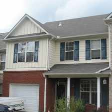 Rental info for Fantastic 3 Bedroom, 2.5 Bath Townhome in a Great Location!