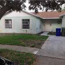Rental info for House for rent in the Pembroke Pines area