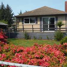 Rental info for Lovely Two Bedroom Home in Newport!
