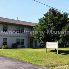Rental info for Cat Friendly 1 Bedroom Lower in Mosinee!