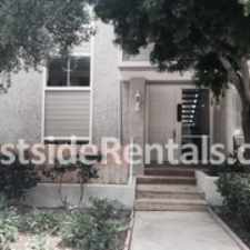 Rental info for Beautiful Townhouse in Malibu Villas Across from Paradise Cove.