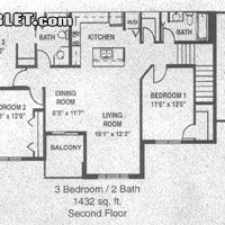 Rental info for $1395 3 bedroom Apartment in Madison East