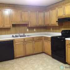 Rental info for This duplex has a newly renovated Kitchen with all new cabinets, new Dishwasher, Electric Range and side by side Refrigerator. Ceramic Tile in the kitchen makes this a beautiful kitchen.