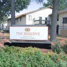 Rental info for The Reserve at Mt. Moriah