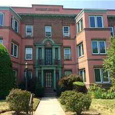 Rental info for Beautiful Condo - East Side (heart of Wayland Squa in the Providence area