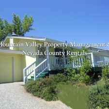 Rental info for 3 bed / 2 bath home with Nevada County Country Club golf course views!