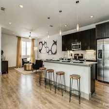 Rental info for Loft + Row in the Dallas area