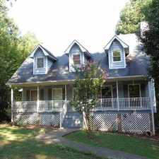 Rental info for Great location, private/wooded lot, new paint throughout, basement!