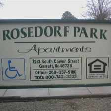 Rental info for Rosedorf Park Apartments
