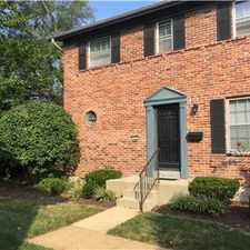 Rental info for 3bed2.5bath Town house(chesterfield in the Creve Coeur area
